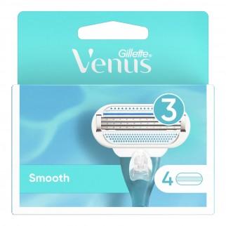 Gillette Venus Smooth Kit con Rasoio per la Depilazione + 10 Lamette