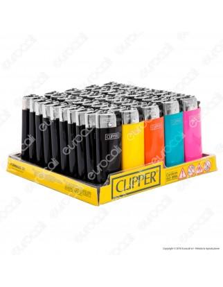 Clipper Classic Micro Colorato - Box da 50 Accendini