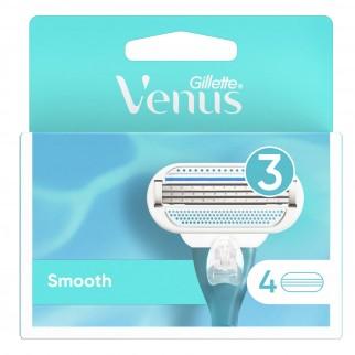 Gillette Venus Smooth Lamette di Ricambio con Aloe Vera per Rasoio Donna - Confezione da 8 Pezzi