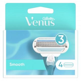 Gillette Venus Smooth Kit con Rasoio per la Depilazione + 6 Lamette