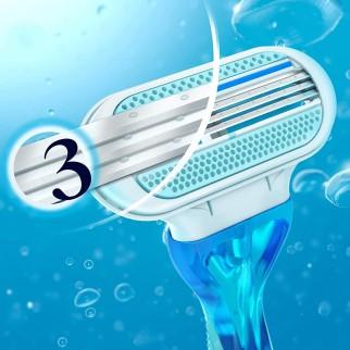 Gillette Venus Oceana Kit Depilazione con 24 Rasoi Usa e Getta