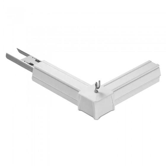 V-Tac Connettore a L per Linear Master Trunking Colore Bianco - SKU 1383