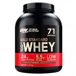 Optimum Nutrition Gold Standard 100% Whey Proteine Isolate in Polvere con Aminoacidi Cioccolato al Latte - Barattolo da 2,27kg