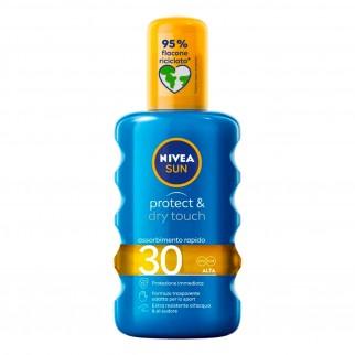 Nivea Sun Spray Solare Protect & Dry Touch SPF 30 - Flacone da 200 ml