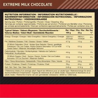 Optimum Nutrition Gold Standard 100% Whey Proteine e Aminoacidi in Polvere Gusto Doppio Cioccolato - Barattolo da 899g