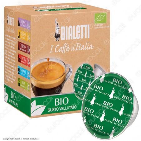 16 Capsule Caffè Bialetti BIO Gusto Vellutato Cialde Originali Bialetti