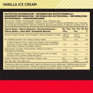 Optimum Nutrition Gold Standard 100% Whey Proteine Aminoacidi in Polvere Gusto Gelato alla Vaniglia - Barattolo da 900g