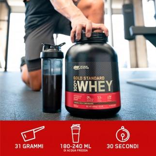 Optimum Nutrition Gold Standard 100% Whey Proteine Aminoacidi in Polvere Gusto Crema di Banana - Barattolo da 900g