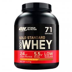 Optimum Nutrition Gold Standard 100% Whey Proteine Isolate Polvere Aminoacidi Cioccolato Burro Arachidi - Barattolo da 2,27kg