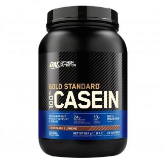 Optimum Nutrition Gold Standard 100% Casein Proteine Aminoacidi in Polvere Gusto Cioccolato - Barattolo da 924g
