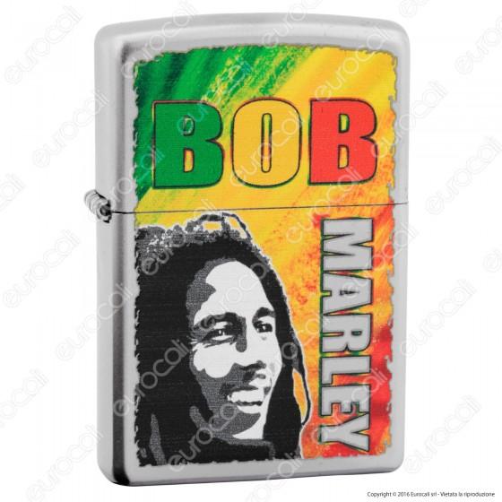 Accendino Zippo Mod. 29126 Bob Marley - Ricaricabile Antivento