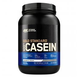 Optimum Nutrition Gold Standard 100% Casein Proteine di Caseina a Lento Rilascio Biscotti e Panna - Barattolo da 924g