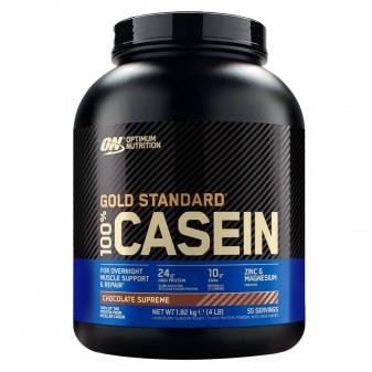 Optimum Nutrition Gold Standard 100% Casein Proteine di Caseina a Lento Rilascio al Cioccolato - Barattolo da 1,82kg