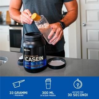 Optimum Nutrition Gold Standard 100% Casein Proteine Aminoacidi in Polvere Notte Crema alla Vaniglia - Barattolo da 1,82kg