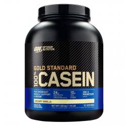 Optimum Nutrition Gold Standard 100% Casein Proteine di Caseina a Lento Rilascio Crema alla Vaniglia - Barattolo da 1,82kg