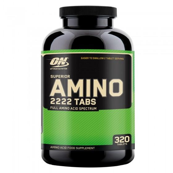 Optimum Nutrition Superior Amino 2222 Tabs Aminoacidi Essenziali e Ramificati - Barattolo da 320 Capsule