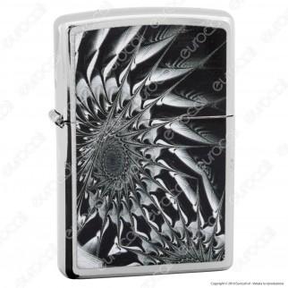 Accendino Zippo Mod. 29061 Metal Abstract - Ricaricabile Antivento
