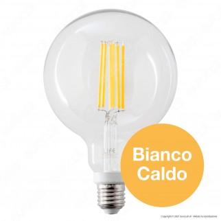 Life Lampadina LED E27 18W Globo G125 Filamento Dimmerabile - mod. 39.922196CD3