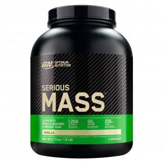 Optimum Nutrition Serious Mass Proteine Whey in Polvere per Sviluppo Muscolare alla Vaniglia - Barattolo da 2,73Kg