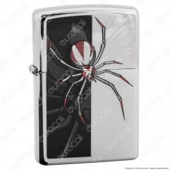 Accendino Zippo Mod. 28795 Spider - Ricaricabile Antivento