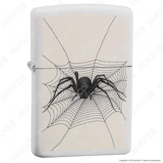 Accendino Zippo Mod. 14M006 Spider in web - Ricaricabile Antivento