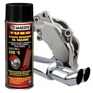 Vernice Spray Macota Tubo - Resistente Alle Alte Temperature Fino A 800°C