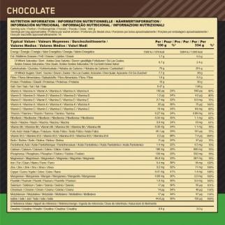 Optimum Nutrition Serious Mass Proteine Whey in Polvere per Sviluppo Muscolare al Cioccolato - Busta da 5,45Kg