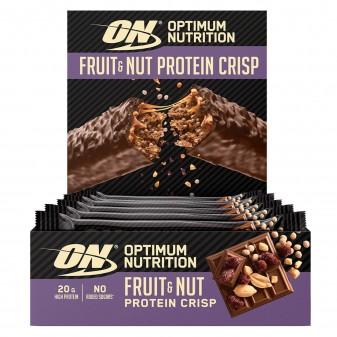 Optimum Nutrition Fruit e Nut Protein Crisp - Confezione da 10 Barrette da 70 g