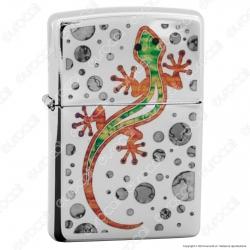 Accendino Zippo Mod. 16L040 Lizard - Ricaricabile Antivento