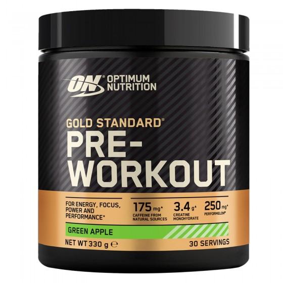 Optimum Nutrition Gold Standard Pre-workout in Polvere con Creatina Monoidrata Gusto Frutta Mista - Barattolo da 330g