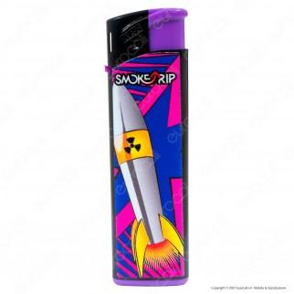 SmokeTrip Accendini Elettronici Ricaricabili Fantasia Bombe - 5 Accendini