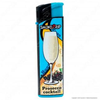 SmokeTrip Accendini Elettronici Ricaricabili Fantasia Prosecco Cocktails - 5 Accendini