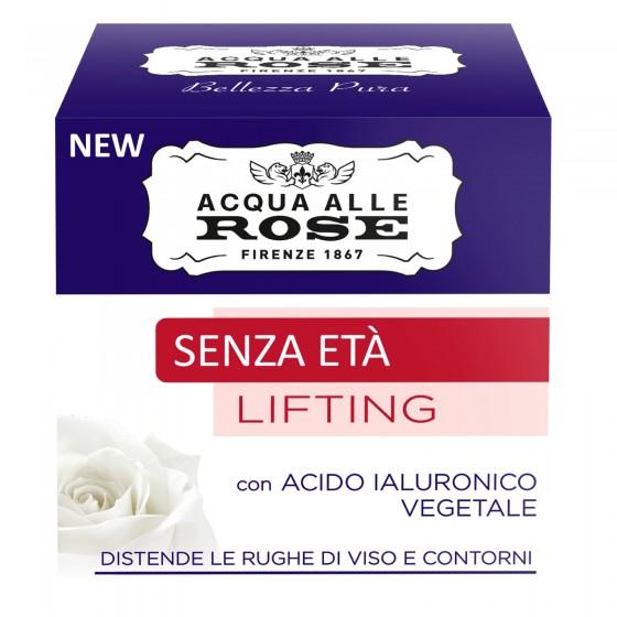 Acqua alle Rose Senza Età Lifting Crema Viso Antirughe - Barattolo da 50ml