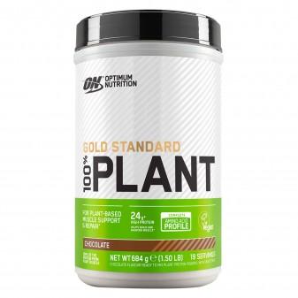 Optimum Nutrition Gold Standard 100% Plant Proteine Vegane in Polvere Gusto Cioccolato - Barattolo da 684g