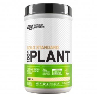 Optimum Nutrition Gold Standard 100% Plant Proteine Vegane in Polvere Gusto Vaniglia - Barattolo da 684g