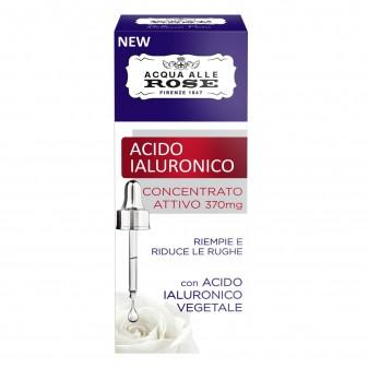 Acqua alle Rose Acido Ialuronico Concentrato Attivo - Flacone da 50ml
