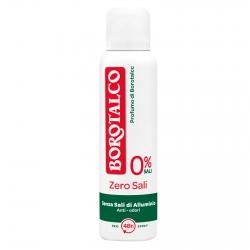 Borotalco Deodorante Spray Zero Sali Anti Odori - Flacone da 150ml