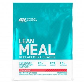 Optimum Nutrition Lean Meal Replacement Proteine Multivitaminiche in Polvere con Minerali Gusto Fragola - Busta da 918g