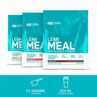 Optimum Nutrition Lean Meal Replacement Proteine Multivitaminiche in Polvere con Minerali Gusto Vaniglia - Busta da 918g