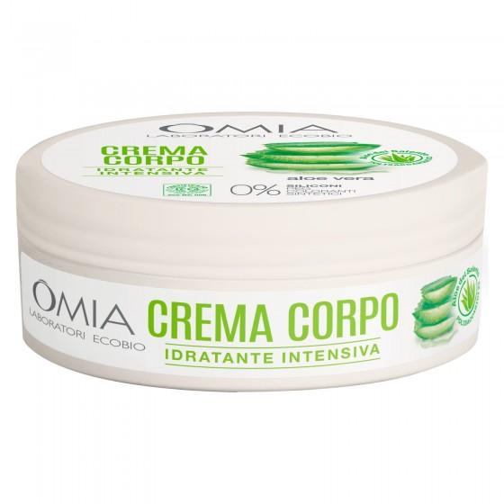 Omia Laboratori Ecobio Crema Corpo Aloe Vera del Salento - Barattolo da 150ml