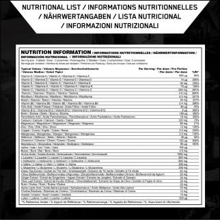 Optimum Nutrition Opti Men Multivitaminico per Uomo in Compresse con Minerali e Aminoacidi - Barattolo da 180 Compresse