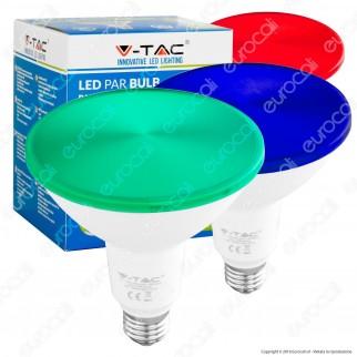 V-Tac VT-1125 Lampadina LED E27 15W Bulb PAR38 Impermeabile IP65 - SKU 4418 / 4419 / 4420