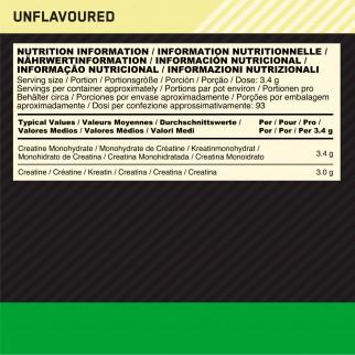 Optimum Nutrition Caffeina e Creatina in Polvere Gold Standard Pre-Workout Frutta Mista 330g e Micronised Creatine 634g