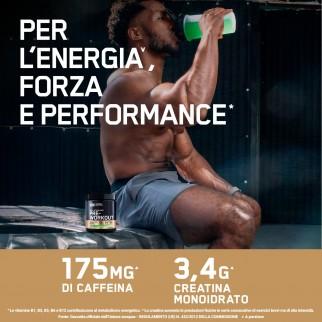 Optimum Nutrition Gold Standard 100% Whey Cioccolato al Latte 896g Pre-Workout Frutta Mista 330g e BCAA Fragola e Kiwi 266g