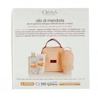 Omia Trattamento Corpo Emoliente Natural Beauty Pelli Secche e Sensibili con Olio di Mandorla - Confezione da 2pz