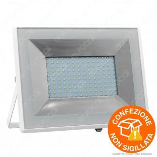 V-Tac VT-40101 E-Series Faro LED SMD 100W Ultra Sottile da Esterno Colore Bianco - SKU 5968