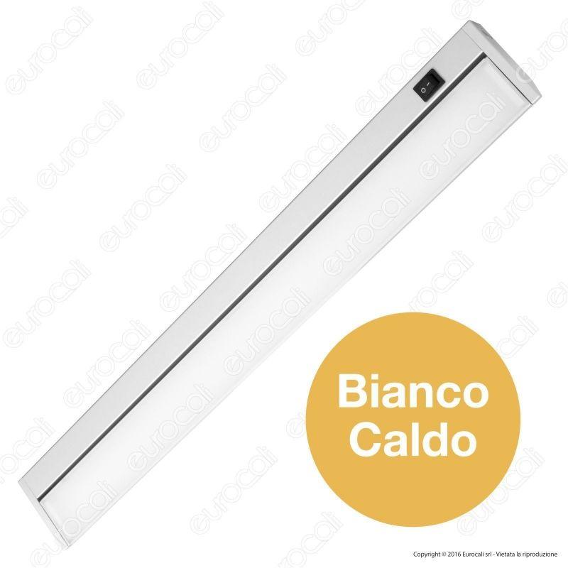 V-Tac VT-8112 Tubo LED Sottopensile Cucina Plafoniera 10W Lampadina