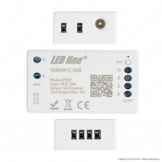 LED Line Modulo Controller Variante Wi-Fi per Strisce LED 12V e 24V RGB - mod. 471291