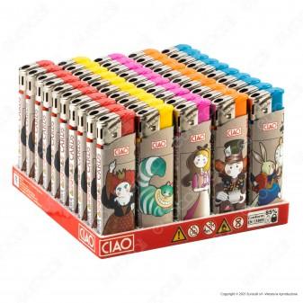 Ciao Accendino Classico Fantasia Cards - Box da 50 Accendini