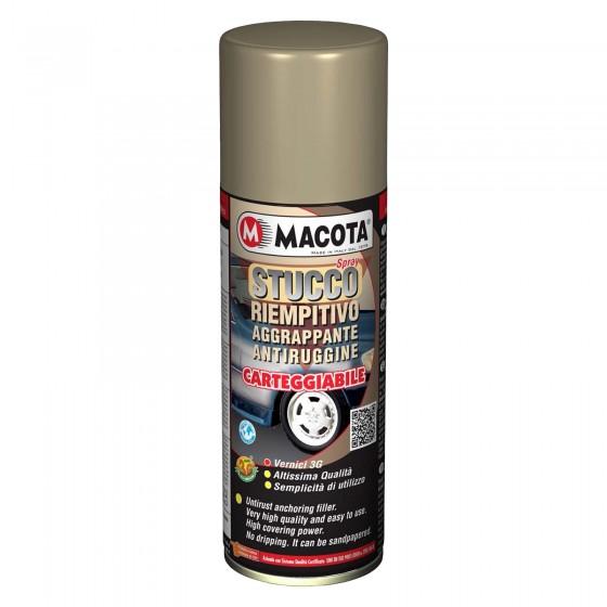 Macota Spray Stucco Riempitivo Aggrappante Antiruggine Carteggiabile